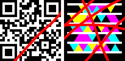 Microsoft Tag and QR Code error Correction