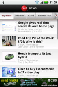 CNET News Android