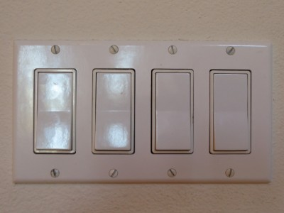 Four simple light switches